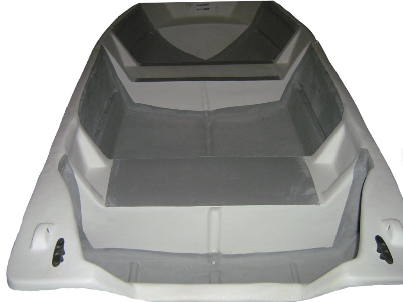 Barco em fibra de vidro
